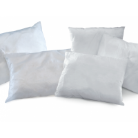 Coussin absorbant hydrocarbures – Petits formats, BLANC
