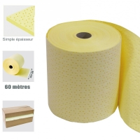 Rouleau absorbant, JAUNE