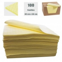 Feuille absorbante JAUNE